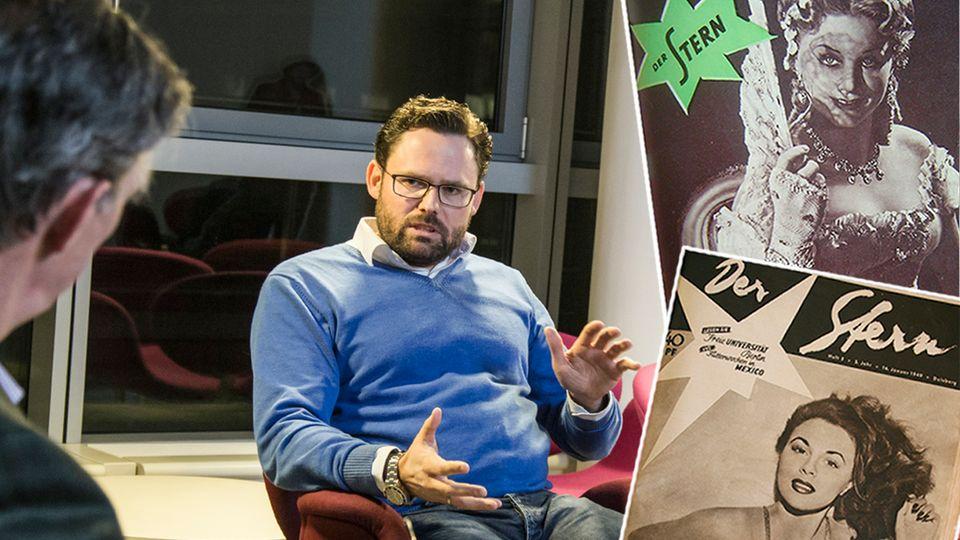 Tim Tolsdorff im Gespräch mit dem stern über die Vergangenheit des stern