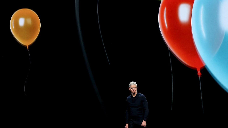 Apple-Chef Tim Cook auf dem WWDC 2018