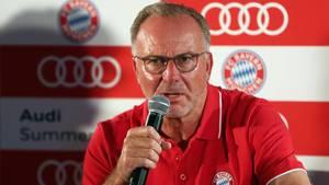 """Bayern-Boss Karl-Heinz Rummenigge sieht die DFB-Spitze""""durchsetzt von Amateuren"""""""