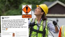 Neuseeland: Wegen Siebenjähriger wird ein sexistisches Straßenschild geändert