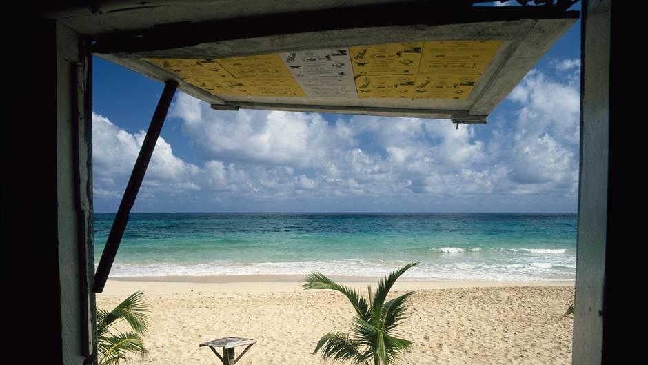 Jamaika, Strand Sand