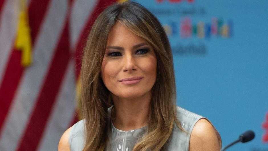 Melania Trump Rechter Us Politiker Vergleicht First Lady Mit Einer