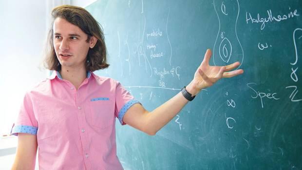 Scholze ist einer der bedeutendsten Mathematiker der Welt.