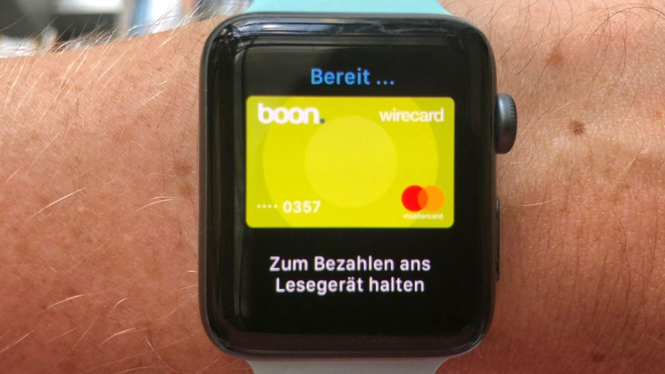 Apple Pay Apple Watch boon.