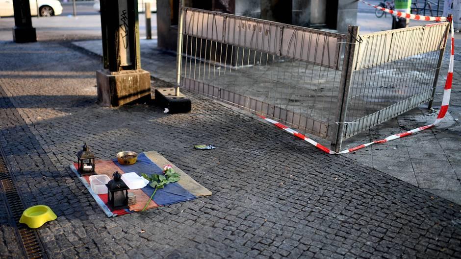 Anschlag auf Obdachlose in Berlin