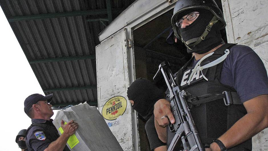15 Tonnen Kokain konnten 2018 in Costa Rica bereits konfisziert werden
