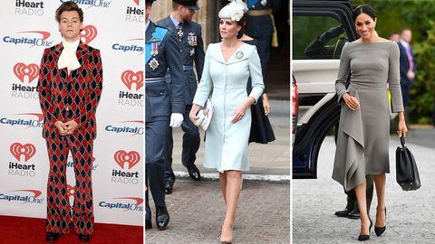 """""""Best Dressed""""-Liste: Harry, Kate und Meghan: Was seid ihr alle schön angezogen!"""