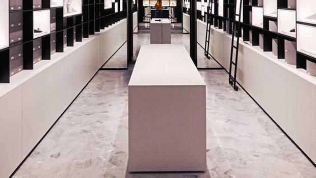 Der Accessoire-Raum in voller Größe