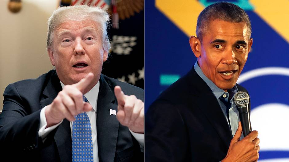 """Twitter-Reaktionen auf Trump: Trump: """"Beim Einkaufen braucht jeder einen Ausweis"""" - Obama hat die perfekte Antwort darauf"""