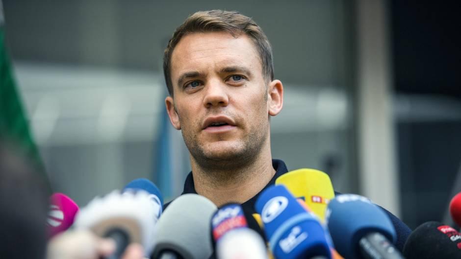 DFB-Kapitän Manuel Neuer zu Neustart:Nationalteam wieder Gesicht verpassen