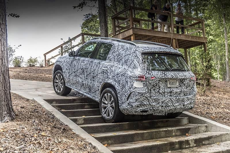 Mercedes GLE 2019 - Treppensteigen einmal anders