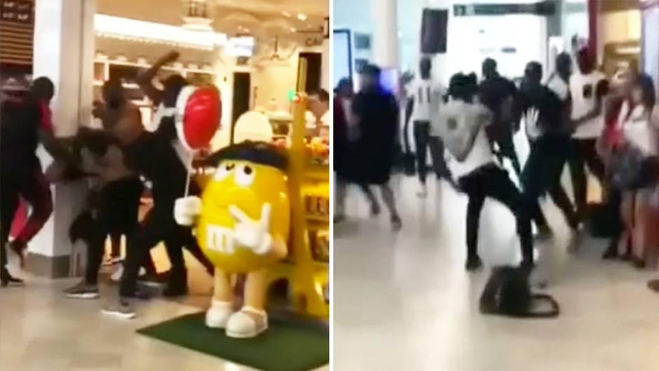 Paris: Rapper liefern sich brutale Schlägerei und legen Flughafen Orly lahm