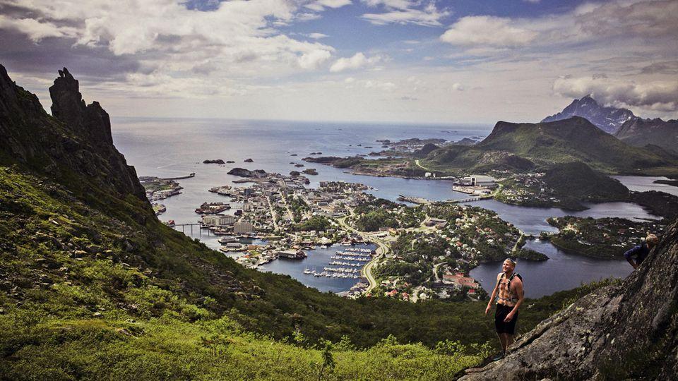 Die Inselhauptstadt Svolvær