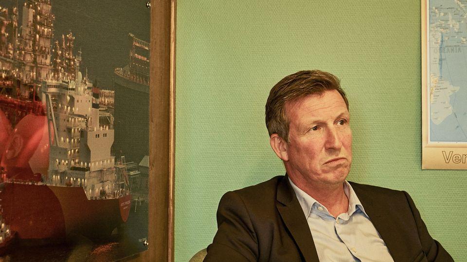 """Kjell Giæver ist als Direktor des Industrieverbands """"Petroarctic""""einer der einflussreichsten Öllobbyisten in Nordnorwegen – und Sohn eines Stockfisch-Inspektors"""