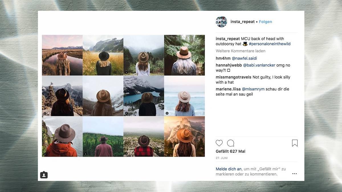 Instagram: So stark ähneln sich die Motive der Influencer ...