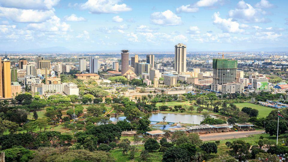 Nairobi, die Metropole Kenias, ist eine der boomenden Städte Afrikas