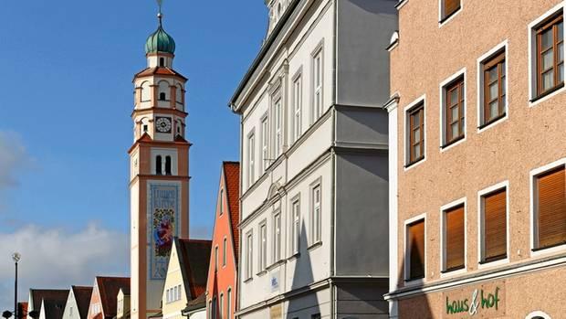 Zentrum von Schrobenhausen