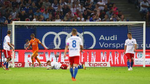 Kalte Dusche für HSV gegen Kiel - Fehlstart in die 2. Liga