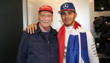 Niki Lauda Lewis Hamilton