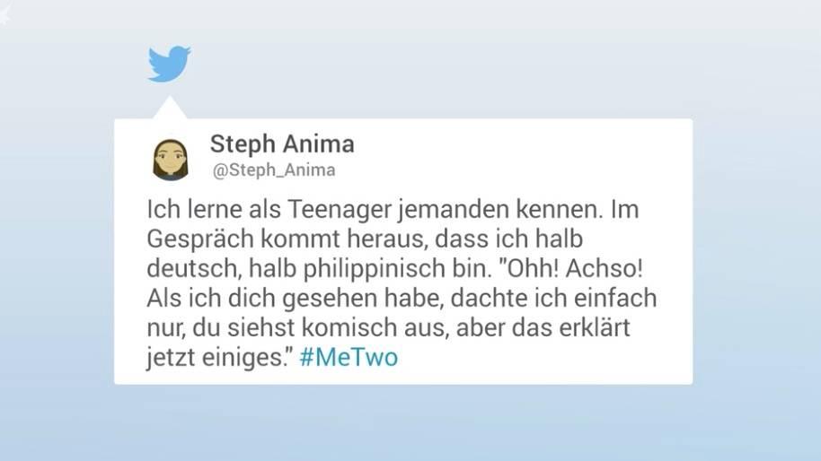 Kampagne auf Twitter: #MeTwo: Hunderte beschreiben eindringlich, wie sich Alltagsrassismus in Deutschland anfühlt