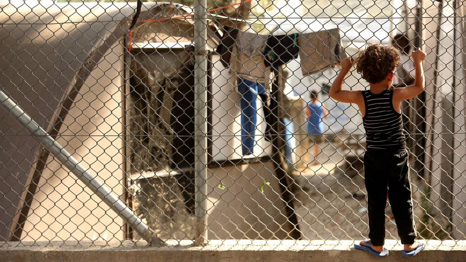 Flüchtlingslager Moria auf Lesbos