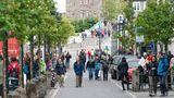 Platz 7:Reykjavík, Island  Insbesondere in den Sommermonaten wird die Insel im Nordmeer von Touristen bestürmt. Gerade in den letzten Jahren sind die Zuwachsraten gigantisch.Reykjavík ist auch als Stopover-Ziel bei Flugreisen mit den isländischen Airlines zwischen Europa und Nordamerika interessant.