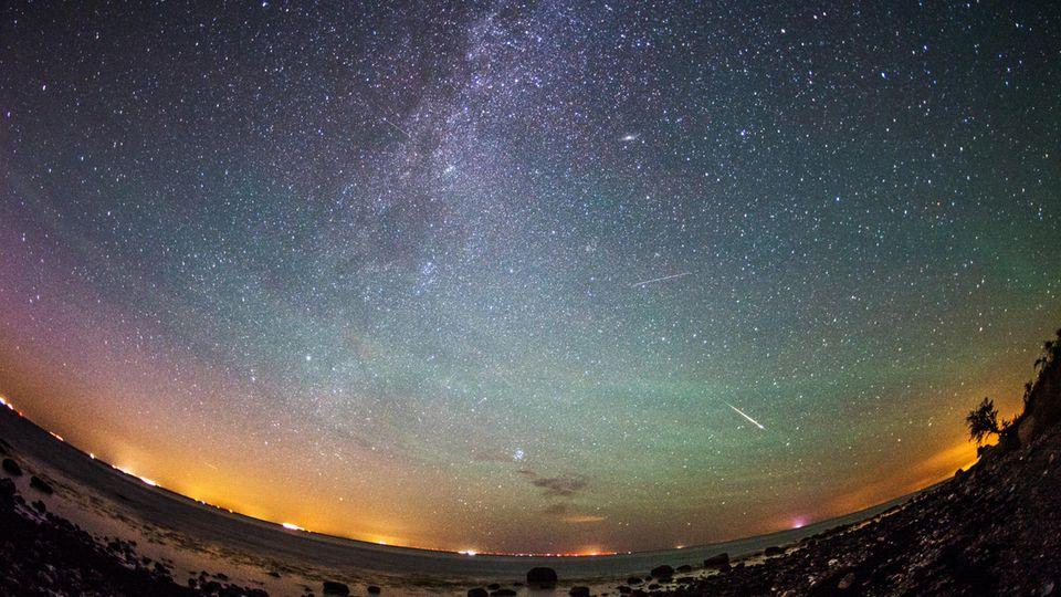 Sternenhimmel über Fehmarn: Meteorstrom der Perseiden bringt im August viele Sternschnuppen