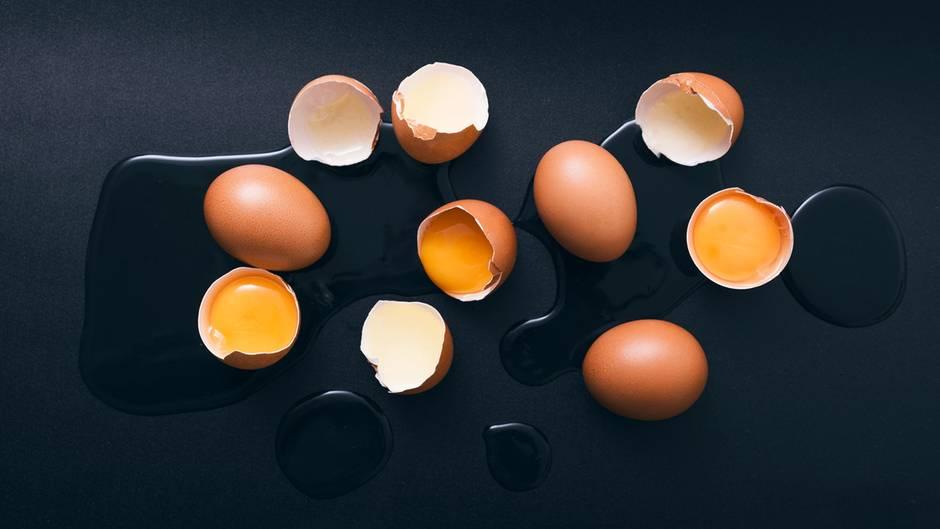 wie erkennt man frische eier