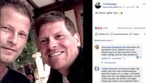 Til Schweiger (l.) und Jan Ullrich