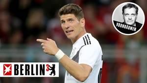 Mario Gomez beendet seine Karriere in der Nationalmannschaft