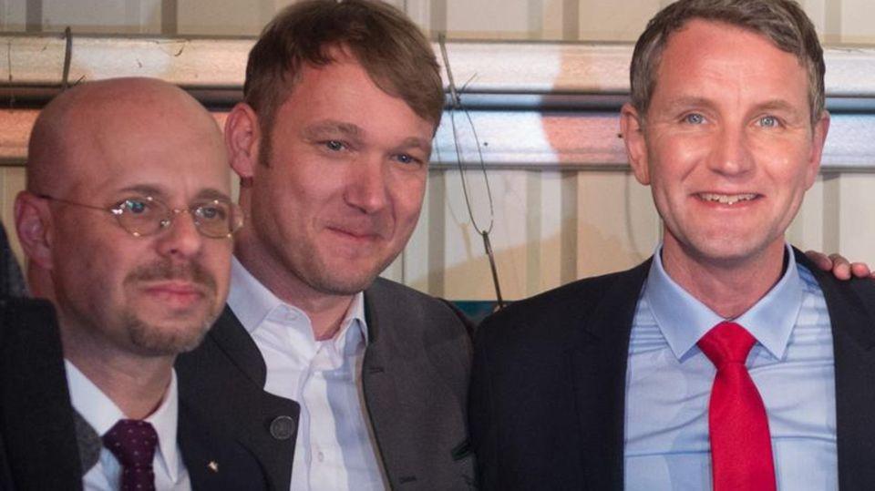 Andreas Kalbitz, André Poggenburg, Björn Höcke