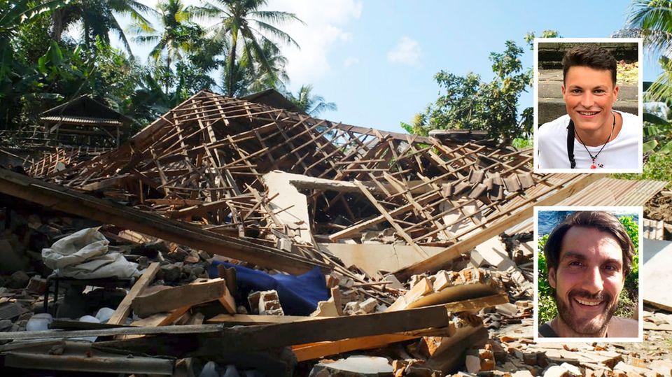 Erdbeben auf Lombok, Indonesien: Augenzeugen berichten im stern