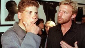 Jan Ullrich und Boris Becker