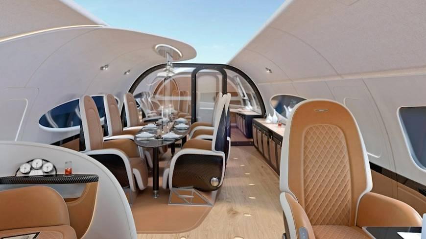 ACJ320neo: Der neue Airbus-Privatjet protzt in Gold und mit Luxusausstattung