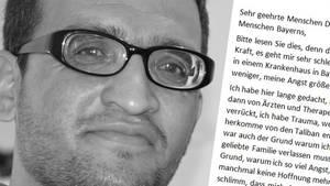 Mit einem offenen Brief wandte sich W. Hasbunallah aus Afghanistan an die Menschen in Deutschland