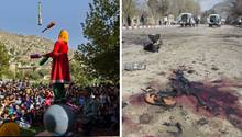 Zwei Szenen aus Afghanistan