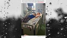 Stephanie und Blake im Krankenhaus