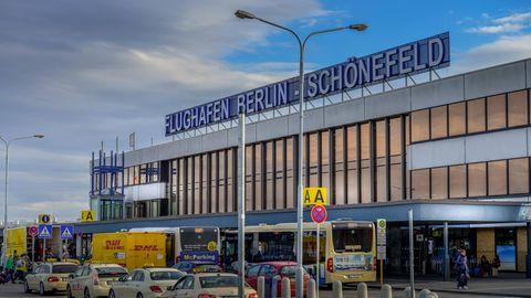 Der Flughafen Berlin-Schönefeld