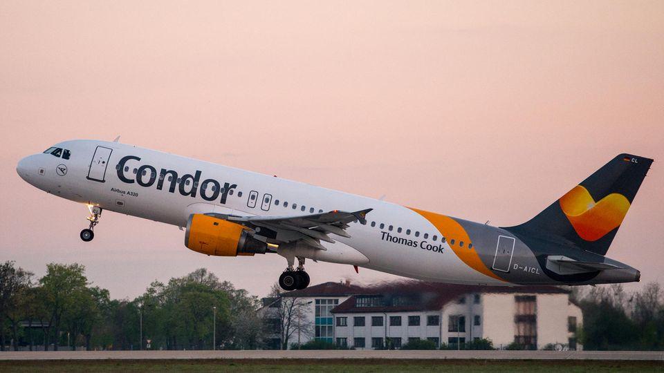 Von Mallorca ging es nicht wie gebucht mit Condor nach Düsseldorf , sondern viel später nach Leipzig - und mit Zügen weiter zum Reiseziel.