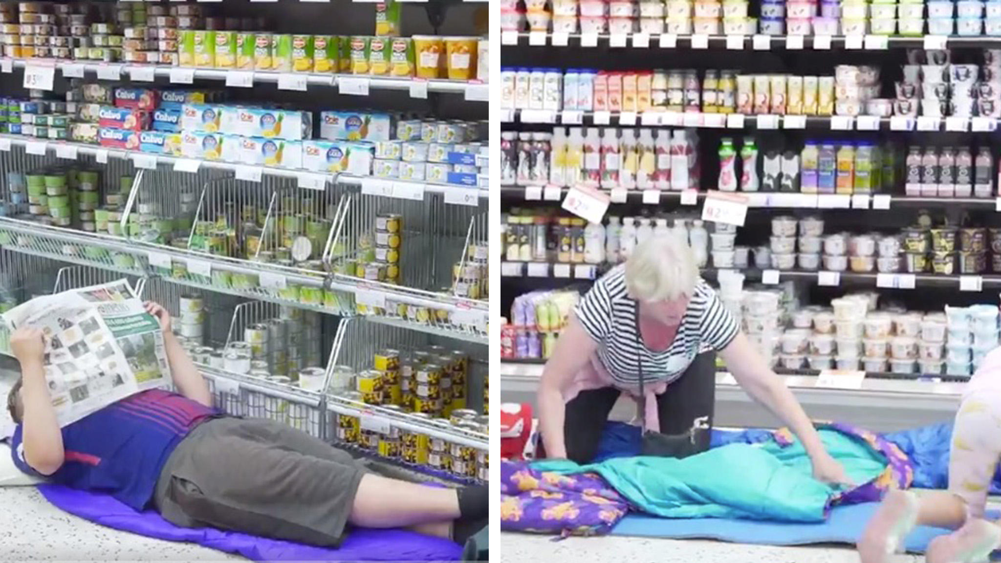 Aldi Kühlschrank Yoga : Hitzewelle in finnland: supermarkt lässt kunden im kühlen laden