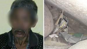 Der 83 Jahre alte Schamane soll die Frau 15 Jahre lang in der Höhle in Indonesien festgehalten haben