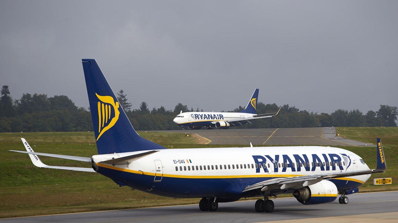 Maschinen der Fluglinie Ryanair