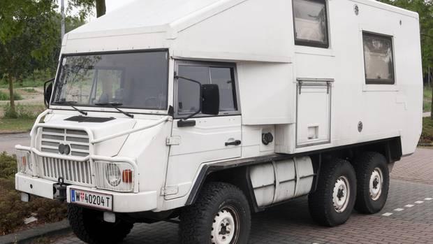 Opulenter Umbau zum Offroad-Camper