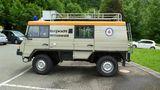 Rettungsmobil der Bergwacht.