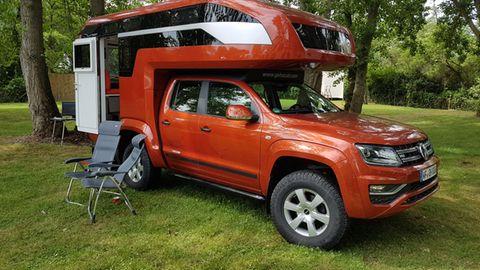 Ein tolles Fahrzeug, das allerdings stolze 200.000 Euro kostet. Dafür wird am Komfort nicht gespart.