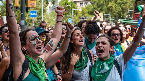 Abtreibungsgesetz in Argentinien