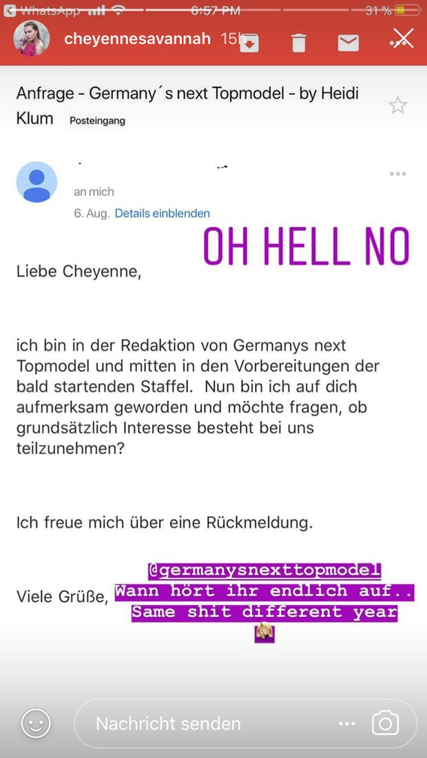 Heidi Klum Cheyenne Ochsenknecht