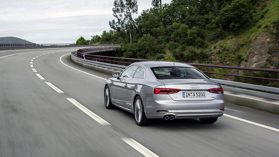 Audi A5 2.0 TFSI Quattro Coupé - 250 km/h schnell