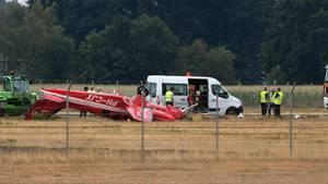 Zwei Tote nach Flugzeugabsturz am Flughafen Münster/Osnabrück