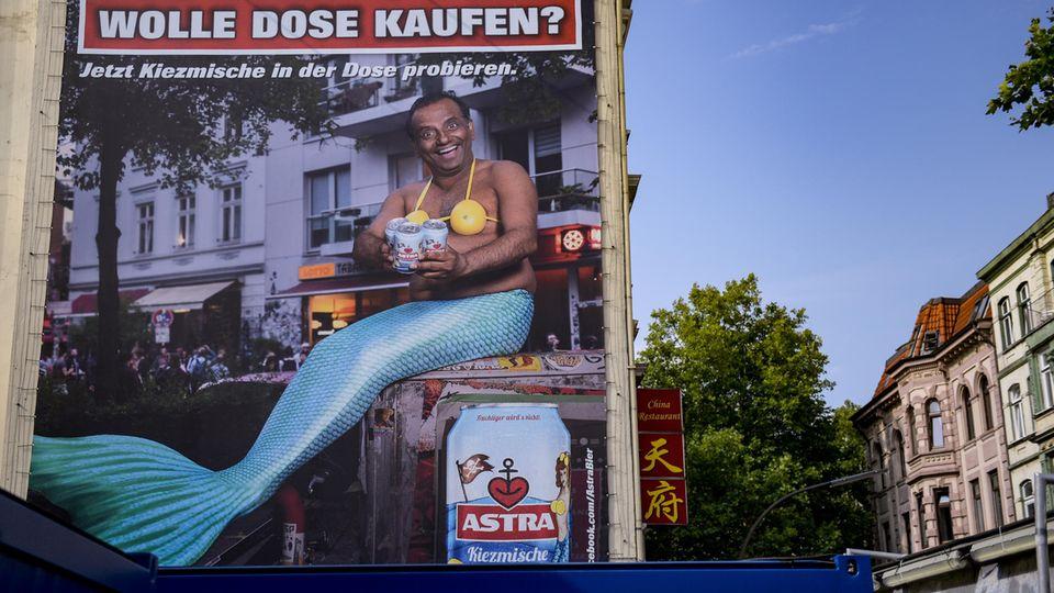 Astra-Werbeplakat